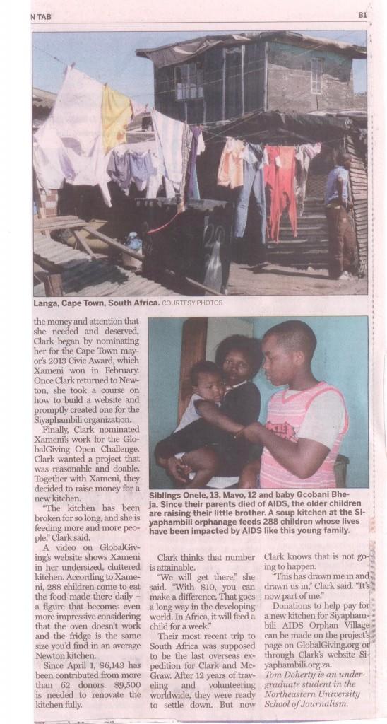 Siyaphambili TAB article page 2