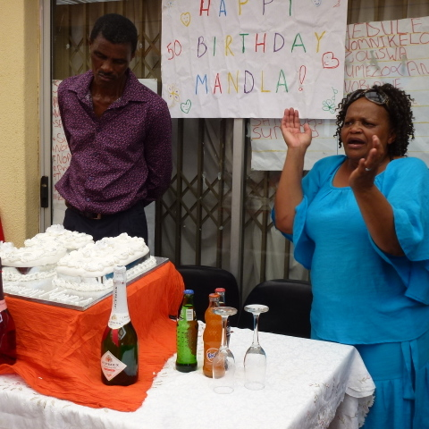 Mandla's 50th birthday