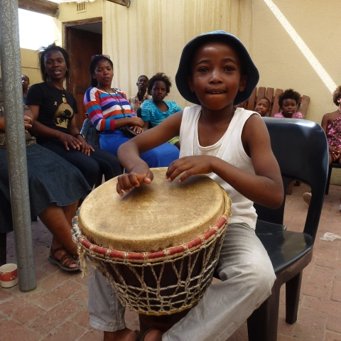 Drumming for the dance